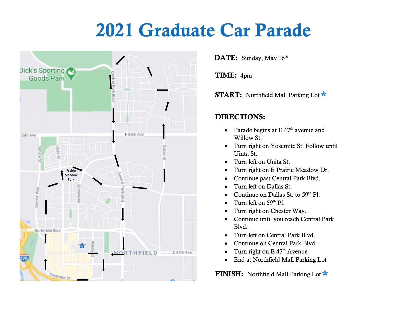 2021 Car Parade Map-1